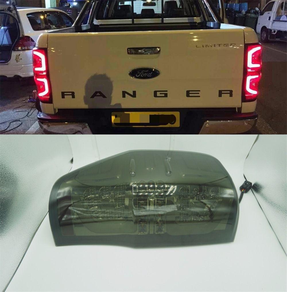 2012 2013 2014 2015 2016 2017 2018 hinten LICHTER DRL led hinten lampe für ford ranger t6 t7 xlt RANGER rückleuchten bremsleuchten