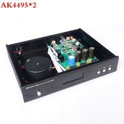 Breeze Audio &weiliang audio Updated version AK4495 *2 + AK4118 + XMOS USB  DAC decoder  Optical Coaxial input RCA output