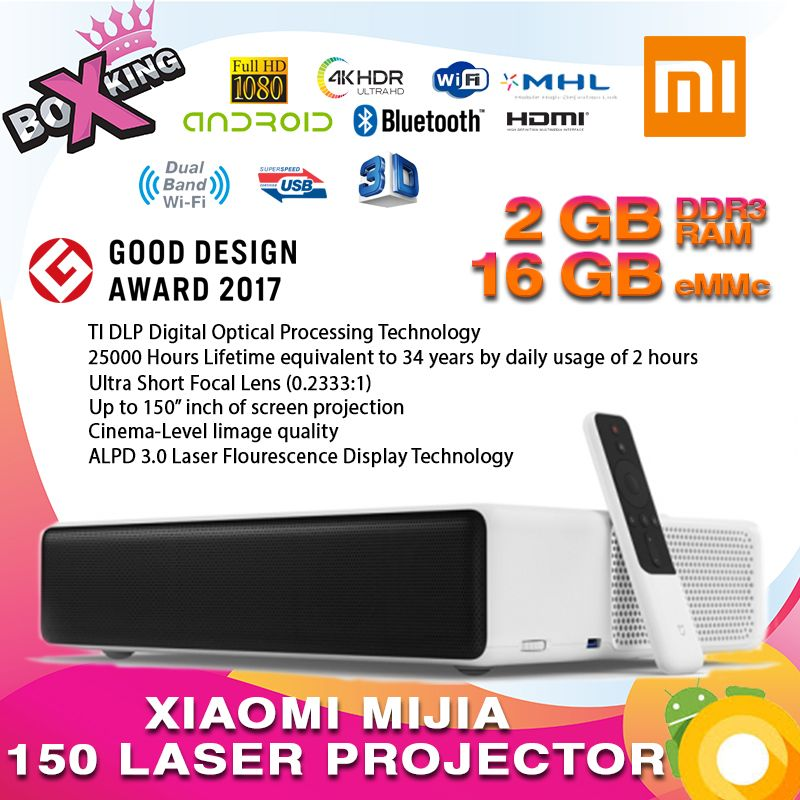 Latest 2019 Xiaomi Mijia short throw 150