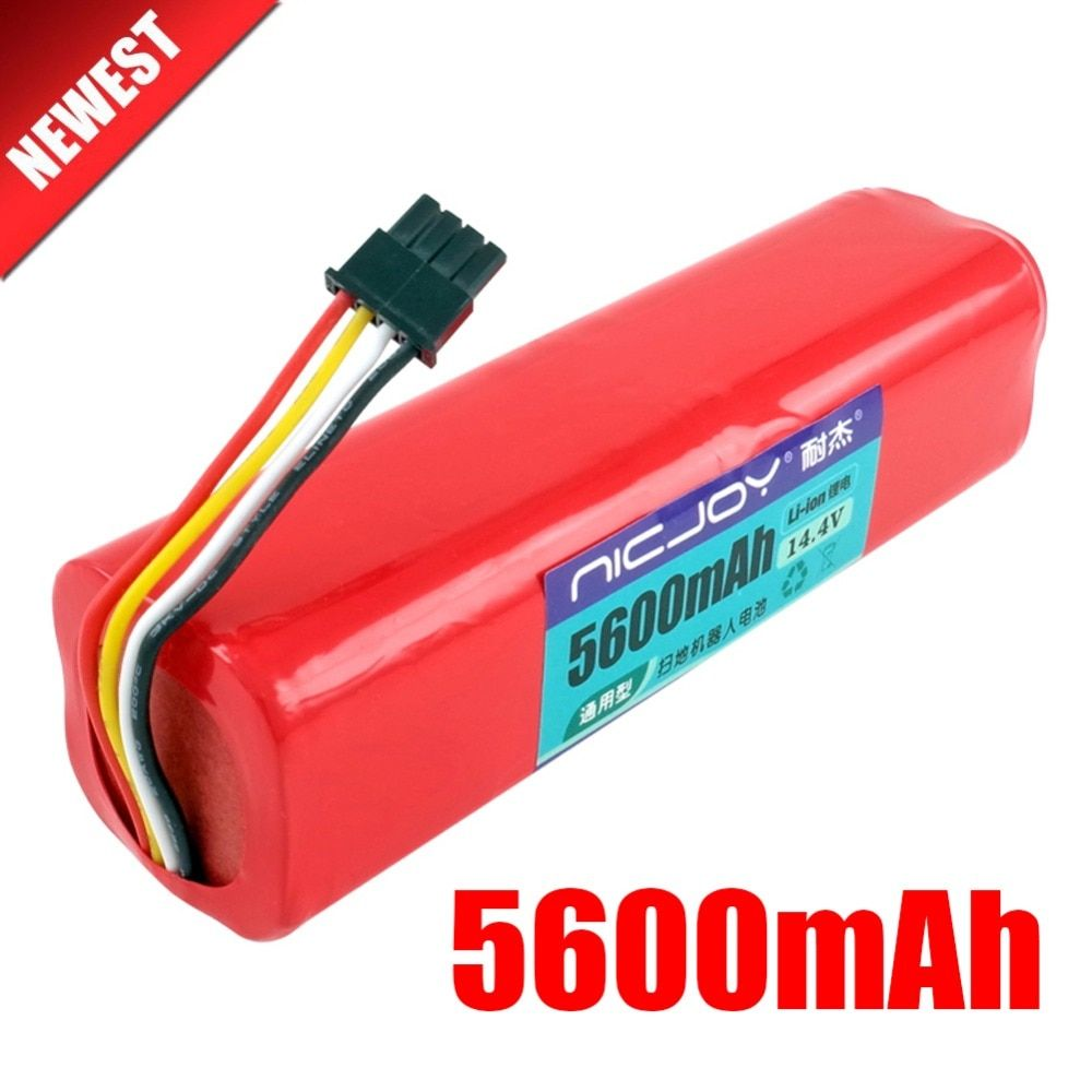 High quility Rechargeable Xiaomi mijia robot Battery 14.4V 5600mAh roborock S50 S51 robot vacuum cleaner accessories parts