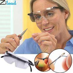 Zilead 250 градусов очки для зрения увеличительные очки Портативные очки для чтения подарок для родителей пресбиопическое увеличение