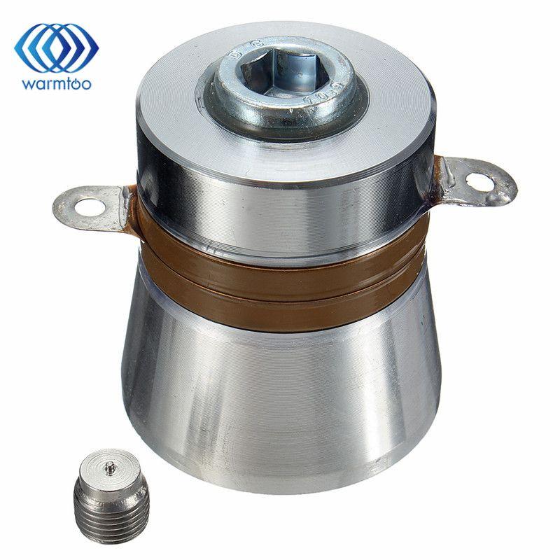 1 шт. 60 Вт 40 кГц Высокая эффективность преобразования ультразвуковой пьезоэлектрический преобразователь очиститель 38x45x48 мм