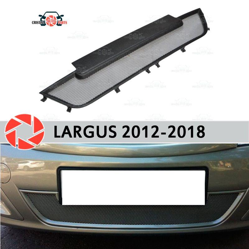 Mesh kühlergrill für Lada Largus 2012-2018 kunststoff ABS geprägte frontschürze auto styling zubehör dekoration