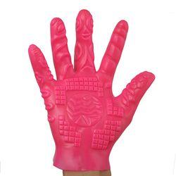 5-Finger Masturbation Gloves Erotic Massage Flirting Adult Sex Toy for Men Women