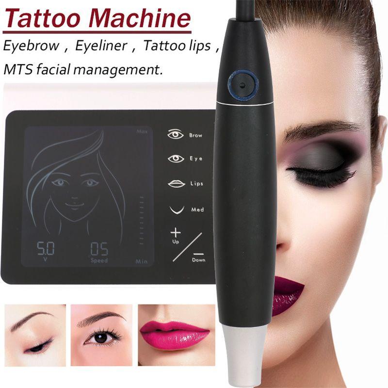 V7 Charme Princesse Liberty Permanent Makeup Machine Pen Kit Made-In-Germany Eyebrow Lip Eyeline tattoo machine +50pcs Needle