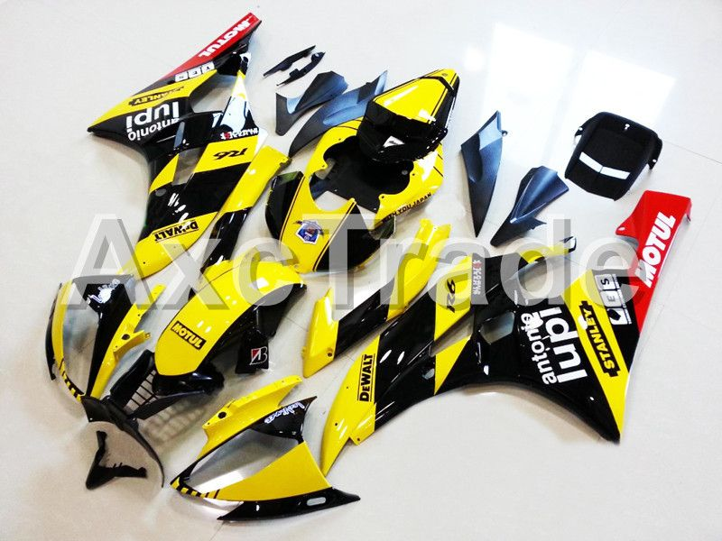 Motorcycle Fairings For Yamaha YZF600 YZF 600 R6 YZF-R6 2006 2007 06 07 ABS Plastic Injection Molding Fairing Bodywork Kit 11