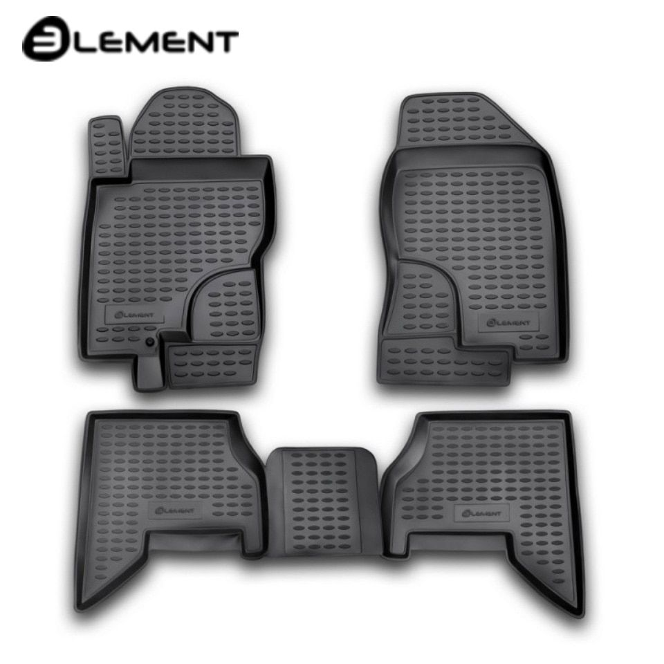 Boden matten in saloon für Nissan Pathfinder III R51 2004-2010 4 teile/satz Element NLC3610210