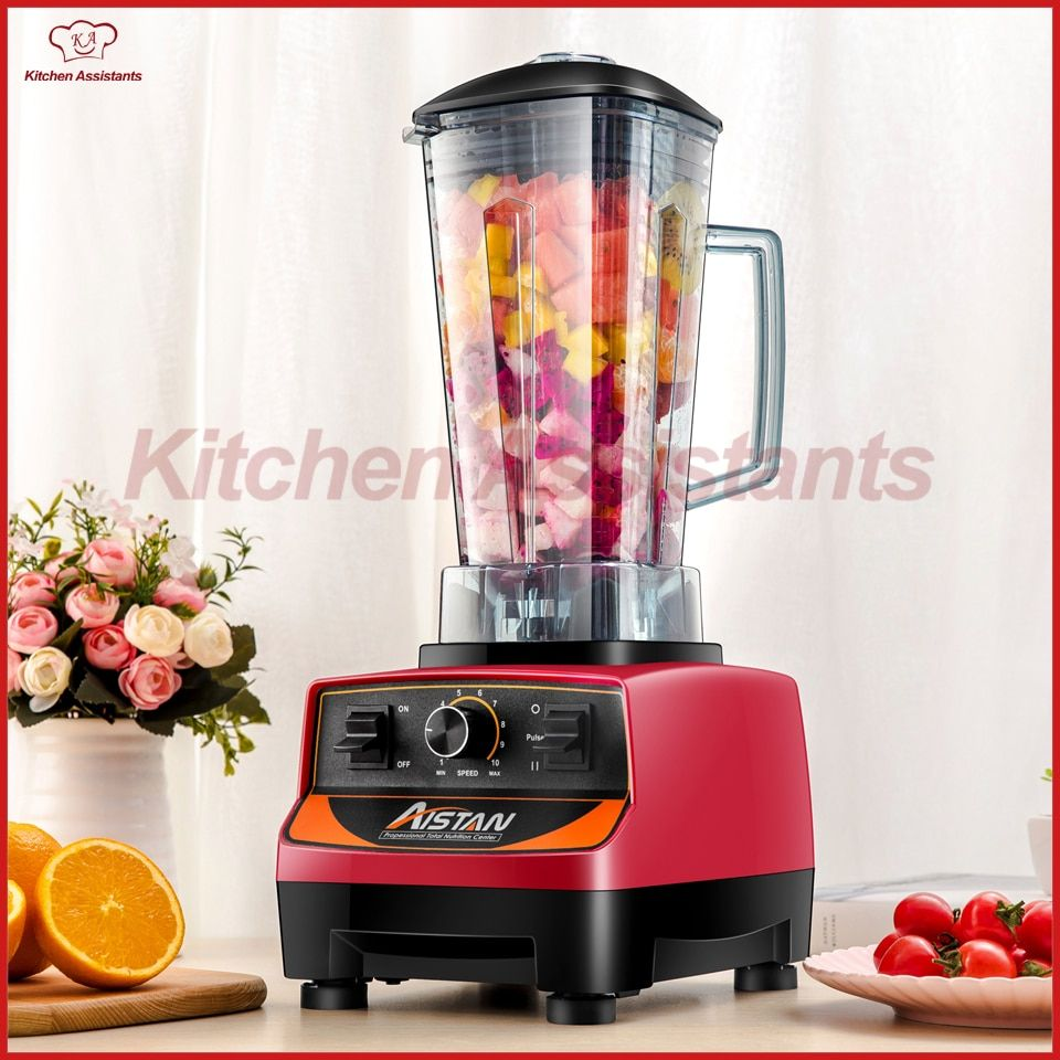 A5200 Commercial powerful electric multifunctional smoothie ice juice fruit blender with bpa mixer blender 3HP