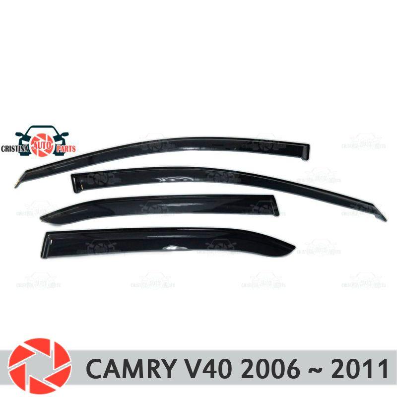 Fenster deflektor für Toyota Camry V40 2006 ~ 2011 regen deflektor schmutz schutz auto styling dekoration zubehör molding
