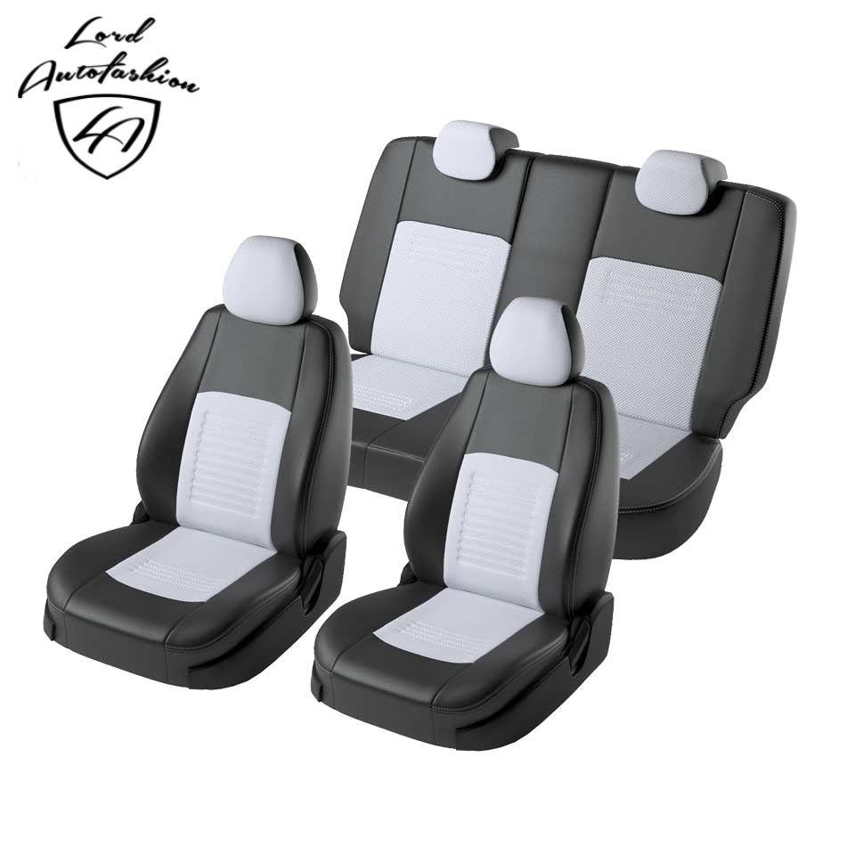 Für Hyundai Creta 2016-2019 spezielle sitzbezüge vollen satz (Modell Turin eco-leder)