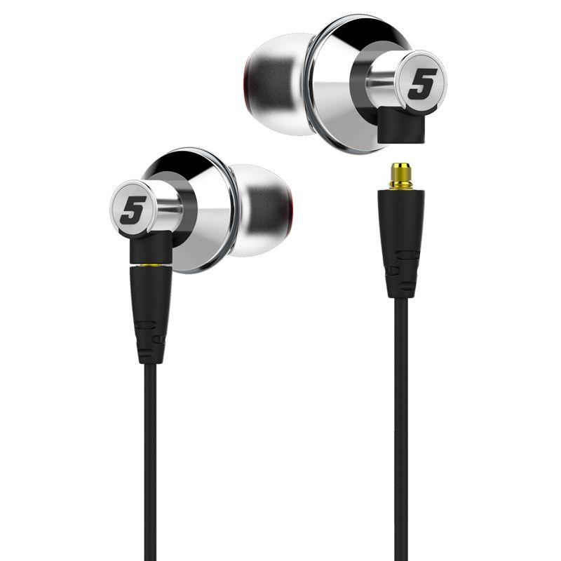 Оригинальные Подлинная Dunu Titan 5 Hi-Res Audio hifi-вкладыши наушники Титан диафрагмы динамический гарнитура металлические наушники музыка наушники