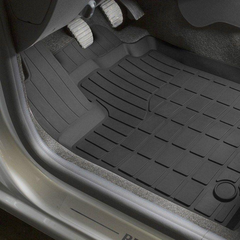 Für Renault Sandero 2014-2018 gummi boden matten in saloon 5 teile/satz Rivalen 64703001