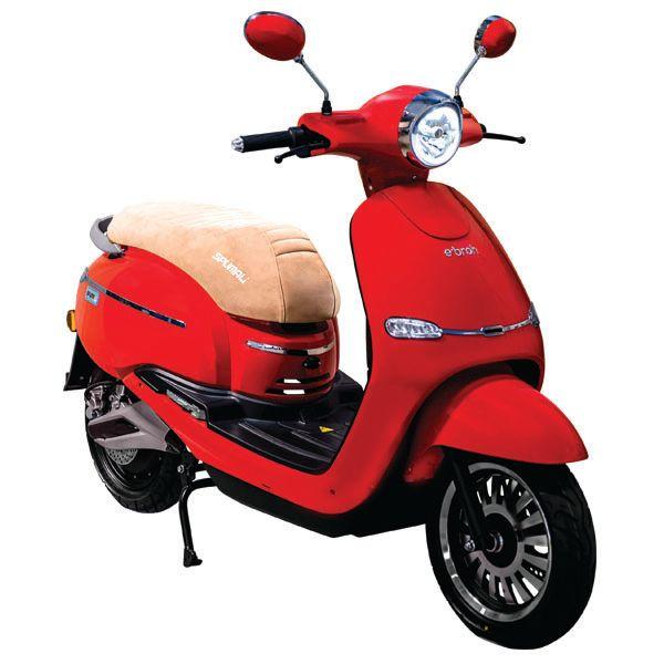 Ebroh Spuma Li, Moto Electrica, Roller Electrico, 3000 W, LED, Movilidad Urbana, Varios Colores