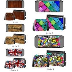 PVC Decal Skin Sticker Dust Protector Case Special Design Game Accessories For Nintend Switch Gaming Console Controller