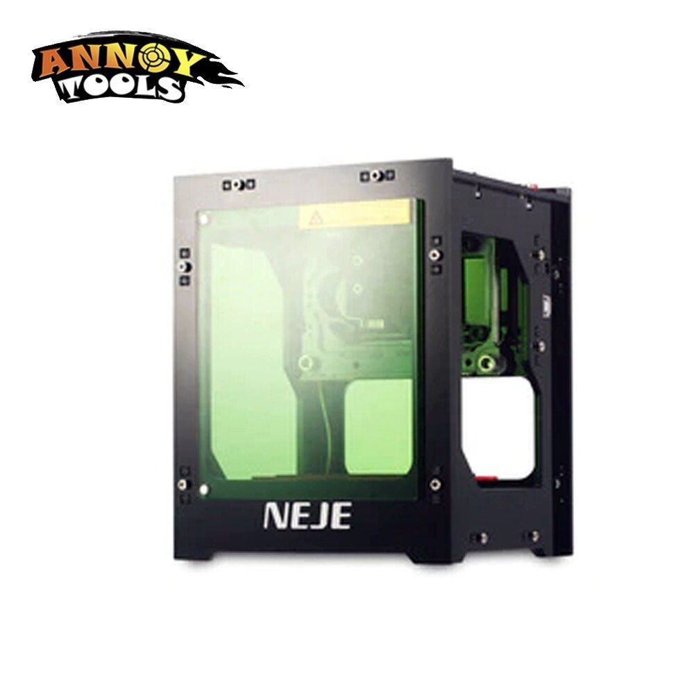 NEJE 1000mW 1500mw cnc crouter cnc laser cutter mini cnc engraving machine DIY Print laser engraver with protective board