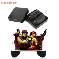 Phone Gamepad Trigger Fire Button Aim Key Smart phone Mobile Games L1R1 Shooter Controller PUBG V3.0 for Iphone Xiaomi