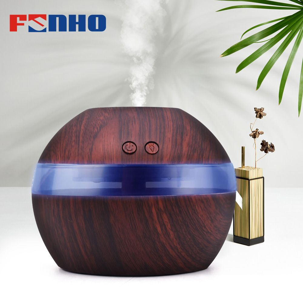 FUNHO Air Aroma Humidifier huile Essential Oil Diffuser Aromatherapy Night Lights Ultrasonic Classic Mist Maker For Home 001