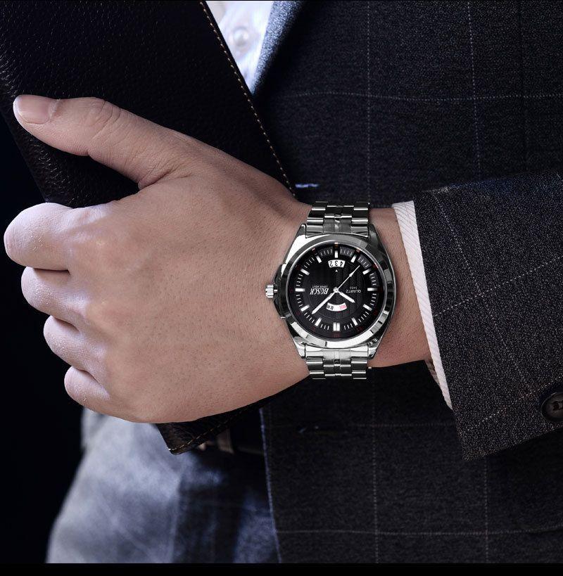Männer Geschenke Kurze Design Black Rubber Strap Kreative Plattenspieler und Einzigartiges Design für Junge Mode Quarz Armbanduhren
