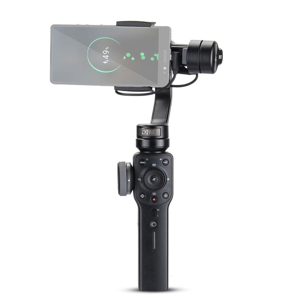ZHIYUN Smooth 4 3-Axis Handheld Gimbal Stabilizer for Smartphone iPhone X 8 Plus 7 6 SE Samsung Galaxy S9,8,7,6