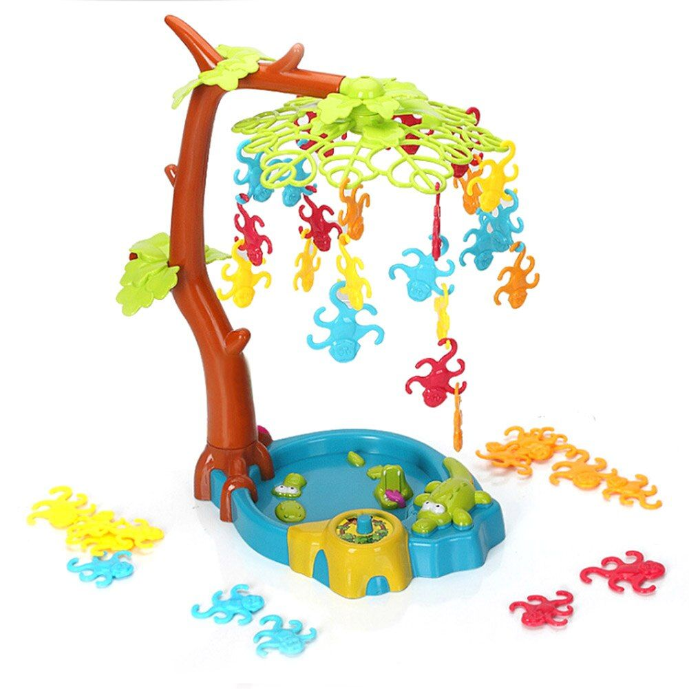 Desktop Toys Monkey Balance Game For Kids Children Hanging Tree Parent-Child Interaction Early Childhood Education Toy