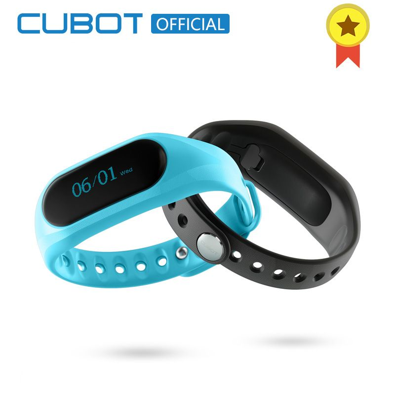 Cubot V1 Smart Fitness Band Sports Waterproof Touch Screen Bracelet for Android IOS 80mAh Battery Bluetooth 4.0 Alarm Anti-lost