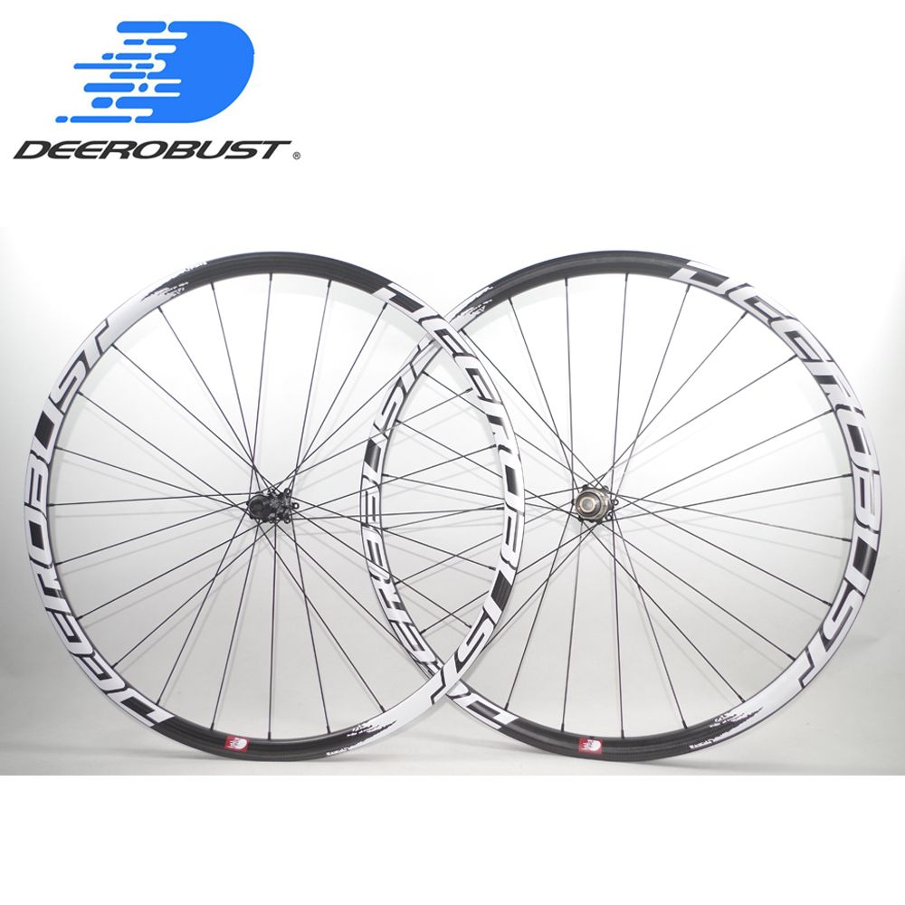 1089g FLT 700C 25mm 38mm 50mm Asymmetric Carbon Tubular Road Disc Brake Cyclocross Bicycle Wheels CX Bike Wheelset 24 Holes