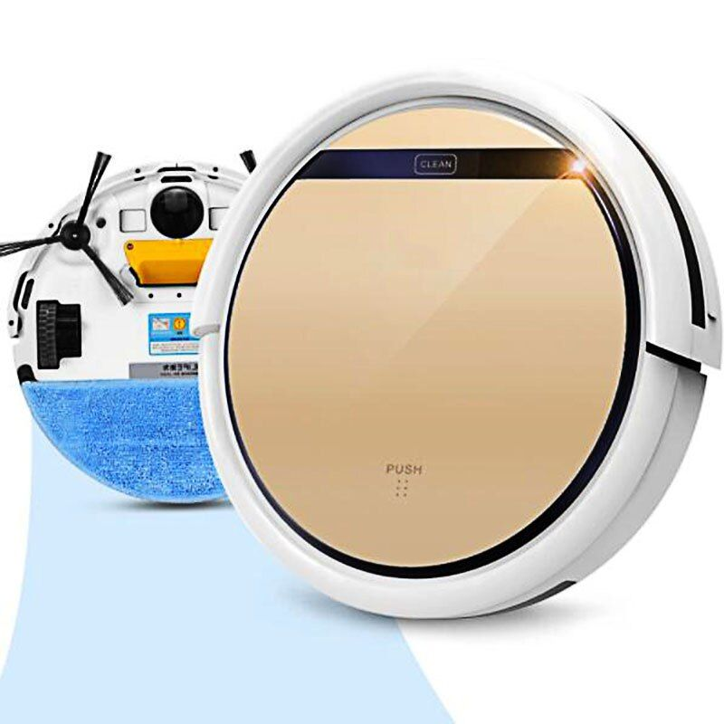 ILIFE V5s Pro Intelligent <font><b>Robot</b></font> Vacuum Cleaner with 1000PA Suction Dry and Wet Mopping <font><b>Robot</b></font> Adspirador