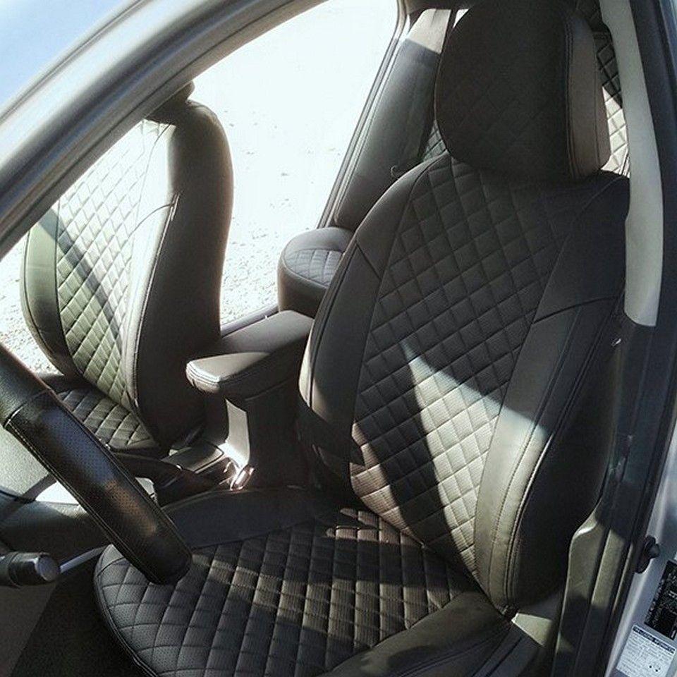 Für Toyota Corolla E150 2007-2013 spezielle sitzbezüge vollen satz Autopilot Eco-leder ROMB