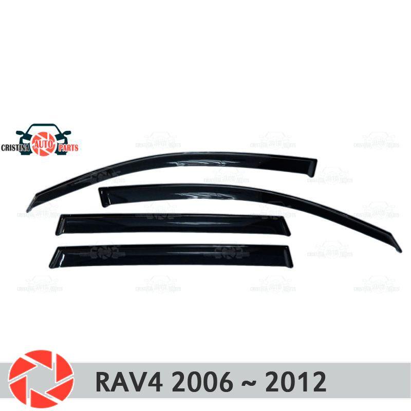 Fenster deflektor für Toyota Rav4 2006 ~ 2012 regen deflektor schmutz schutz auto styling dekoration zubehör molding