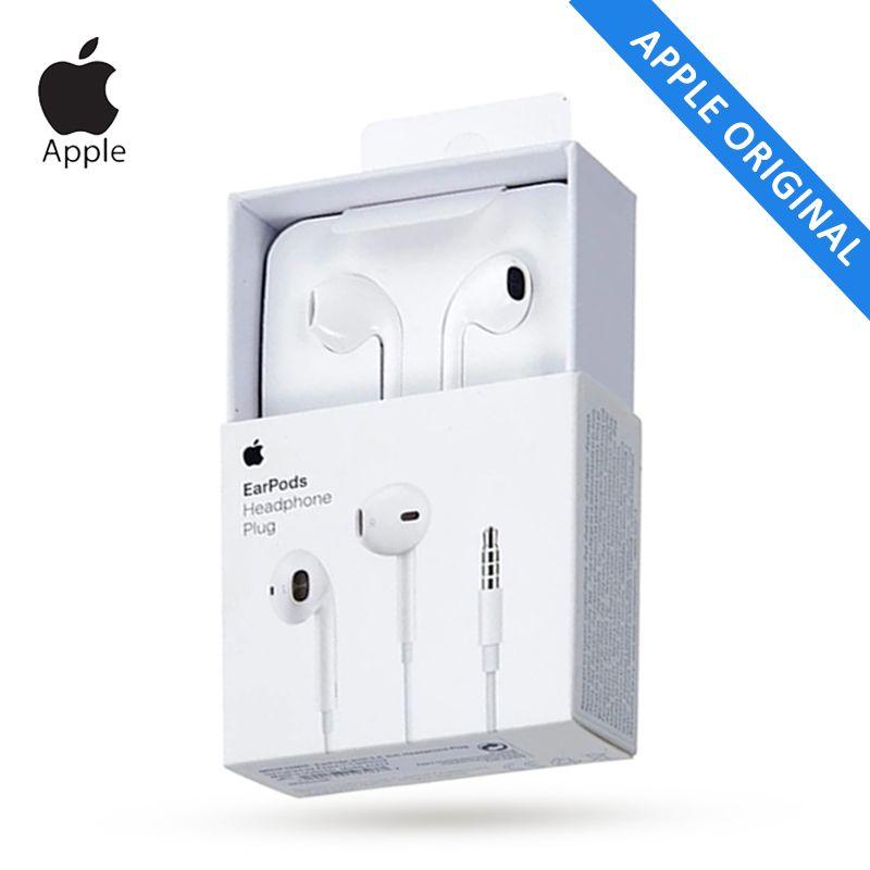 Apple EarPods A1472 Original 3.5mm casque filaire Microphone écouteur pour Mobile iPhone 5/5 S/SE/6/6 Plus PC tablette blanc