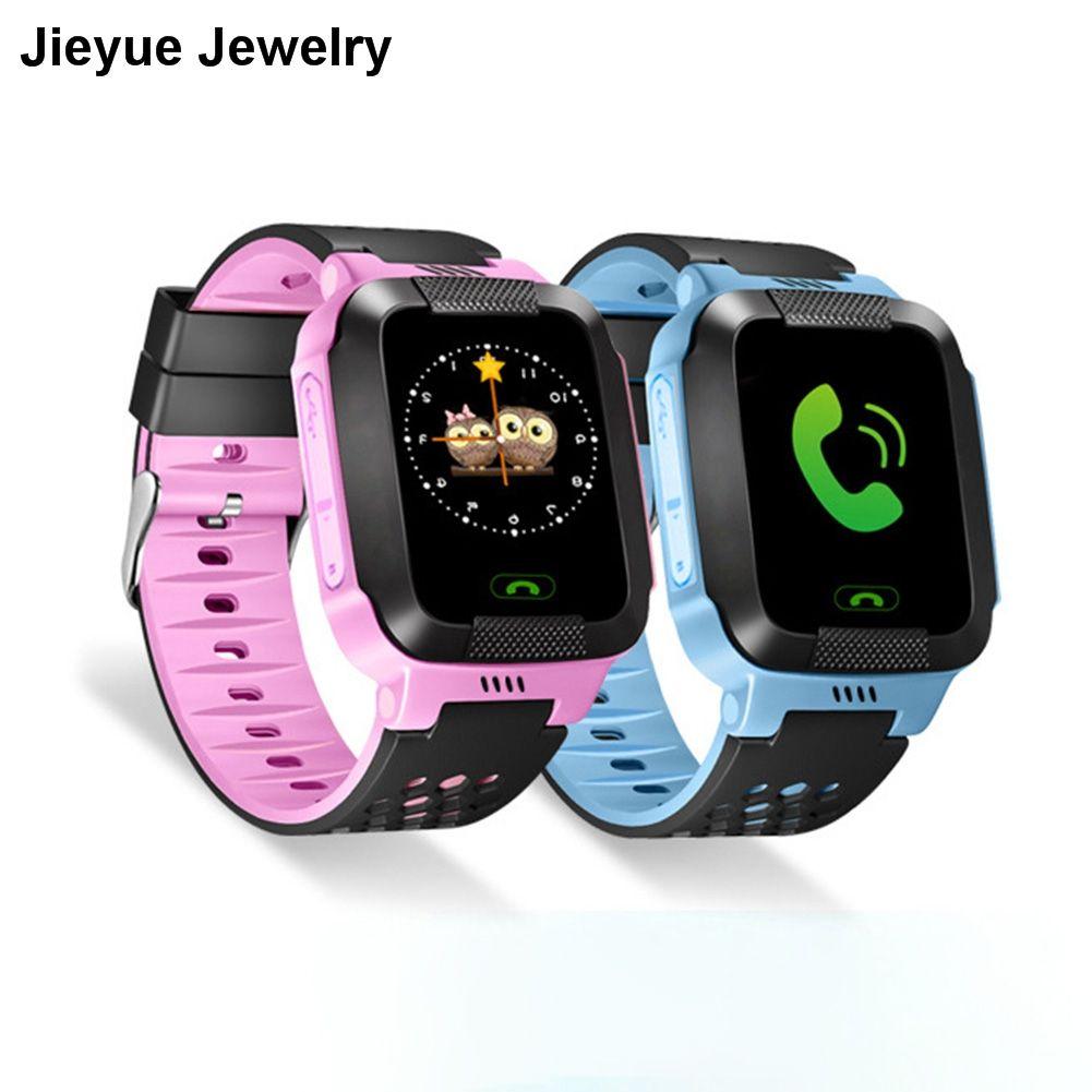 Английская версия дети умные часы анти-потерянный GPS Сенсорный экран SOS вызова расположение трекер часы наручные Безопасный гвардии micro sim к...