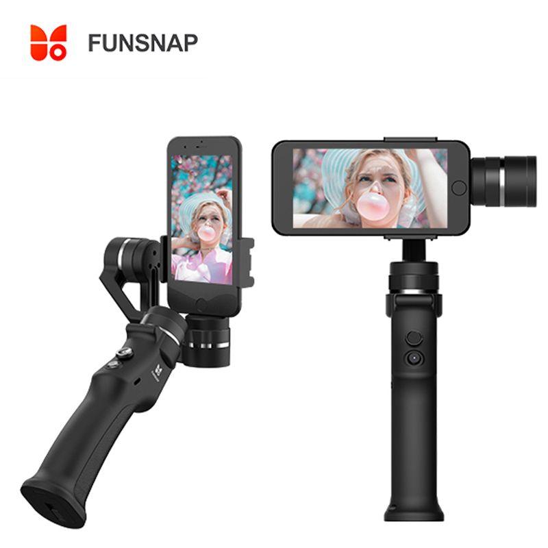Funsnap Capture 3 Axis Handheld Gimbal Stabilizer For Smartphone GoPro 6 SJcam XiaoYi 4k Camera Not DJI OSMO 2 ZHIYUN FEIYUTECH