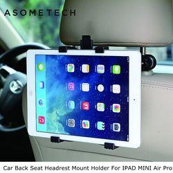 ASOMETECH Auto Zurück Sitz Kopfstütze Halterung Für ipad 2 3/4 Air 1 2 ipad mini 1/2/3/4 SAMSUNG M ipad 2 Tablet PC Steht halterung