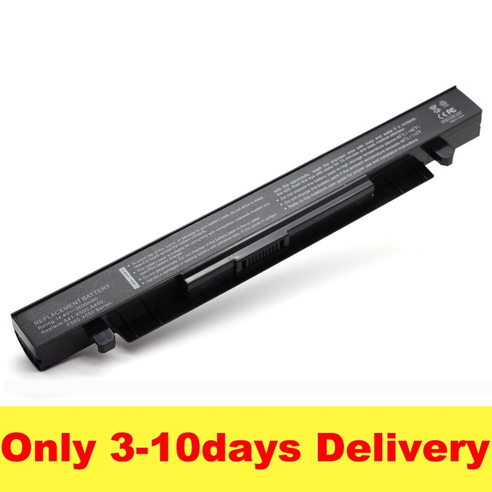 2600mAh 14.4V Laptop Battery for ASUS A41-X550 A41-X550A X450 X550 X550C X550B X550V X550D X450C X550CA 4CELL SZXX