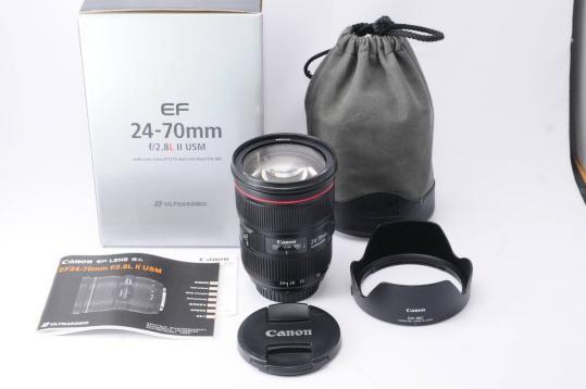 Canon EF 24-70mm f/2.8L II USM Standard Zoom Objektiv Für 1DX 5DS 5DSR 5D IV 5D III 6D II 7D II 80D 800D 700D