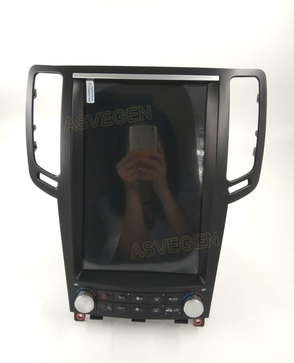 Auto Video Für Infiniti G25 G37 G35 G37SAndroid 7,1 System 2G 32G Vertikale Bildschirm Auto Styling Navigation Multimedia auto-Player