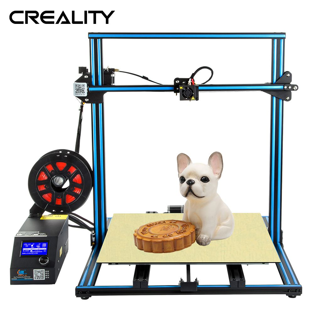 Plus size Creality 3D Printer CR-10S S4 S5 Open Build With Dua Z Rod Filament Sensor/Detect Resume Power Off 3D Printer DIY Kit