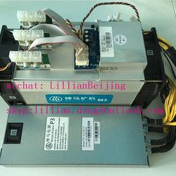 Whatsminer M3 11.5Th/S dengan PSU Power BTC BCH BCC Penambang Sha256 ASIC Bitcoin Mesin Pertambangan