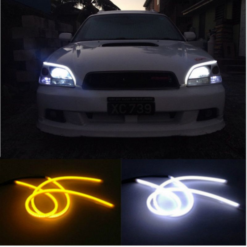 For Mazda 3 6 CX-5 323 5 CX5 2 626 Spoilers MX5 GH CX-7 GG CX3 CX7 Flowing LED Flexible DRL Headlight Turn Signal Light Lamp