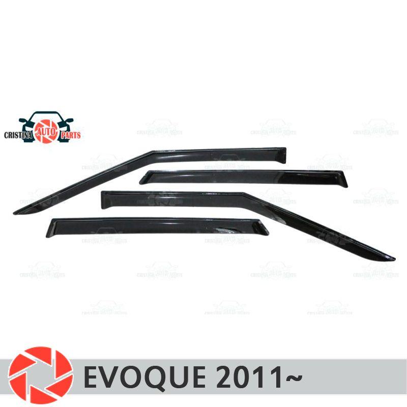 Fenster deflektor für Land Rover Range Rover Evoque 2011 ~ regen deflektor schmutz schutz auto styling dekoration zubehör