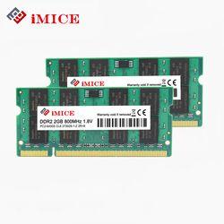 Imice ноутбука ОЗУ DDR2 2 ГБ 667 мГц pc2-5300s 800 мГц PC2-6400S 200pin DDR2 1 ГБ 2 ГБ 4 ГБ DIMM Тетрадь памяти пожизненная Гарантия