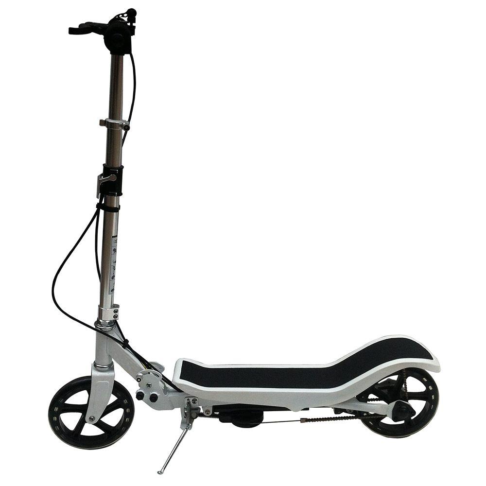 X580 Neue Roller Robust Leichte Höhe Kick Roller Verstellbare Aluminium Legierung T-Stil Faltbare Erwachsene Fuß Roller