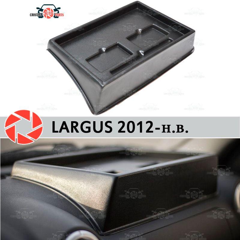 Veranstalter auf front panel konsole für Lada Largus 2012-2018 geprägte rechts position auto styling zubehör dekoration