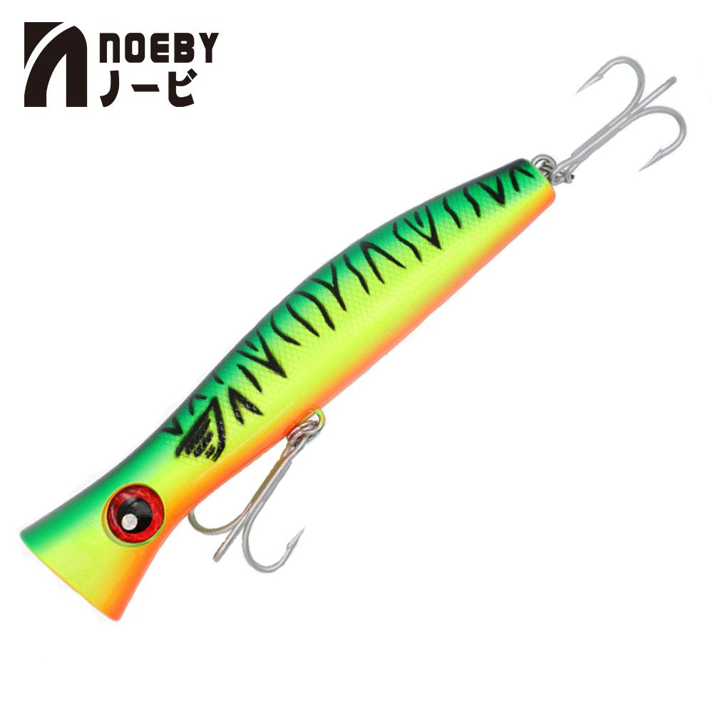 NOEBY Fishing Lures NBL9248 Popper Lure 200mm 116g Wave Climbing ABS Hard Baits Sea Fishing Tackle Pesca Wobblers VMC Hooks