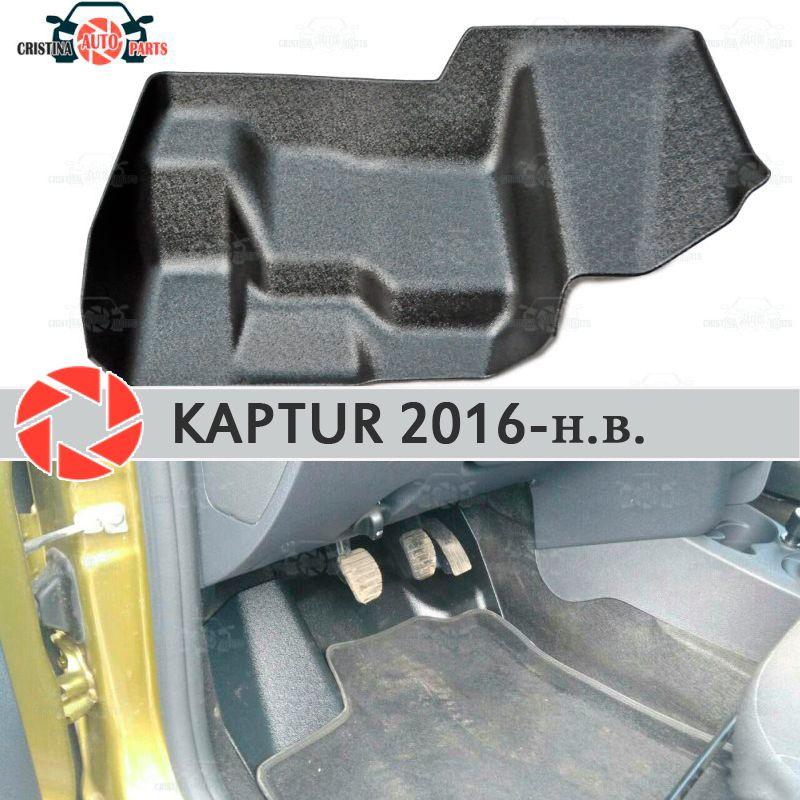 Pad unter die gas pedale für Renault Kaptur 2016-2019 abdeckung unter füße zubehör schutz dekoration teppich auto styling