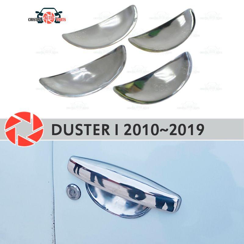 Unter tür griff abdeckungen für Renault Duster 2010 ~ 2019 edelstahl platte auto styling dekoration zubehör molding