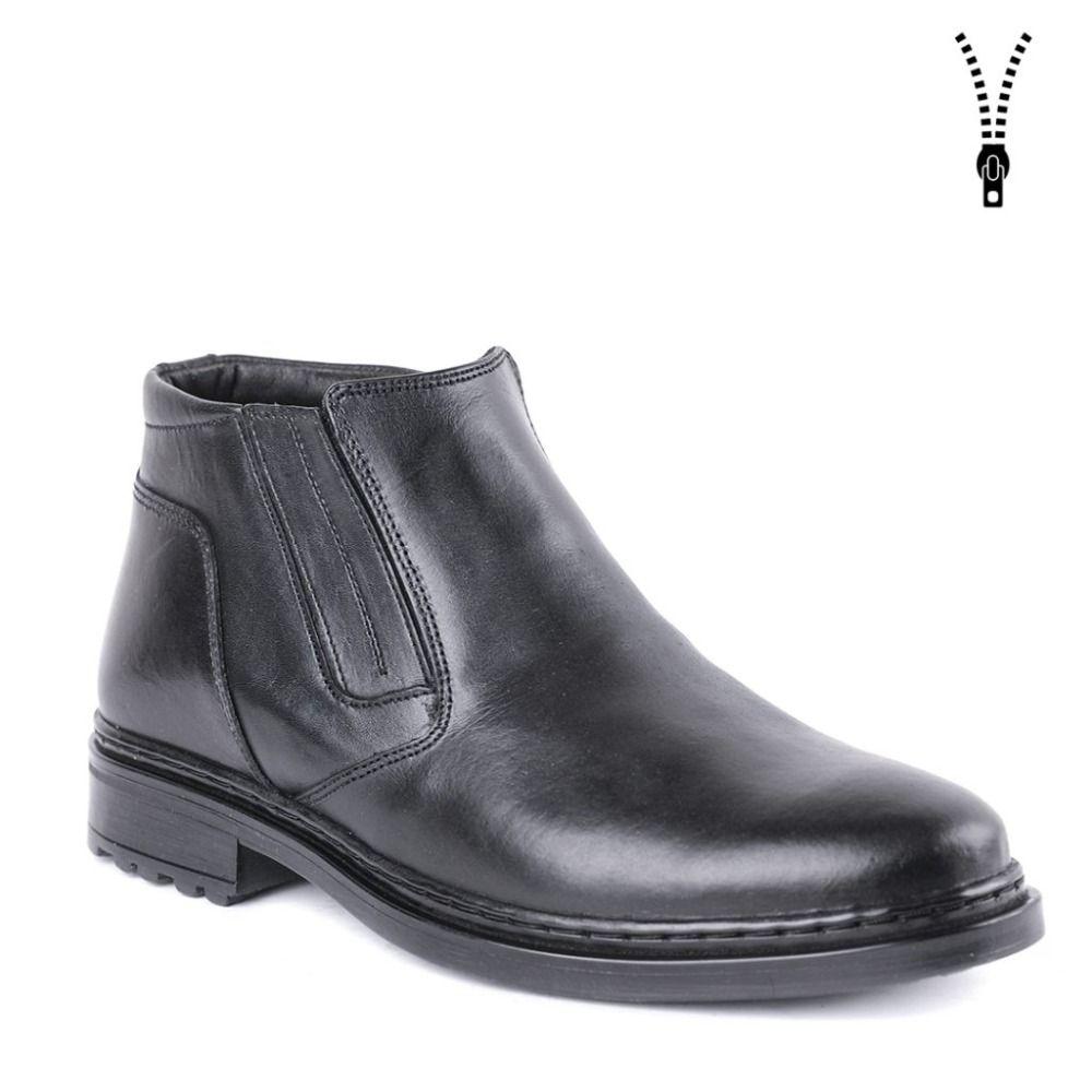 Winter mann klassische schuhe kleid schuhe warme stiefel mit pelz DOF hohe qualität echtes leder 0081/1 ZA