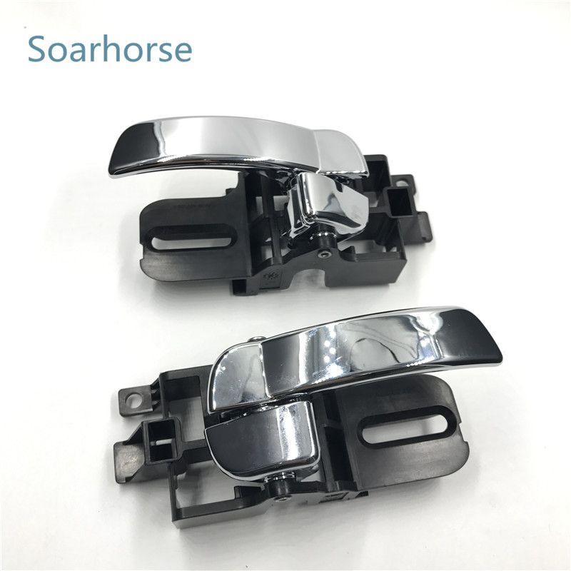 Soarhorse Car Inside Door Handle inner door handle for Nissan Qashqai J10 2008 2009 2010 2011 2012 2013 2014 2015 accessories