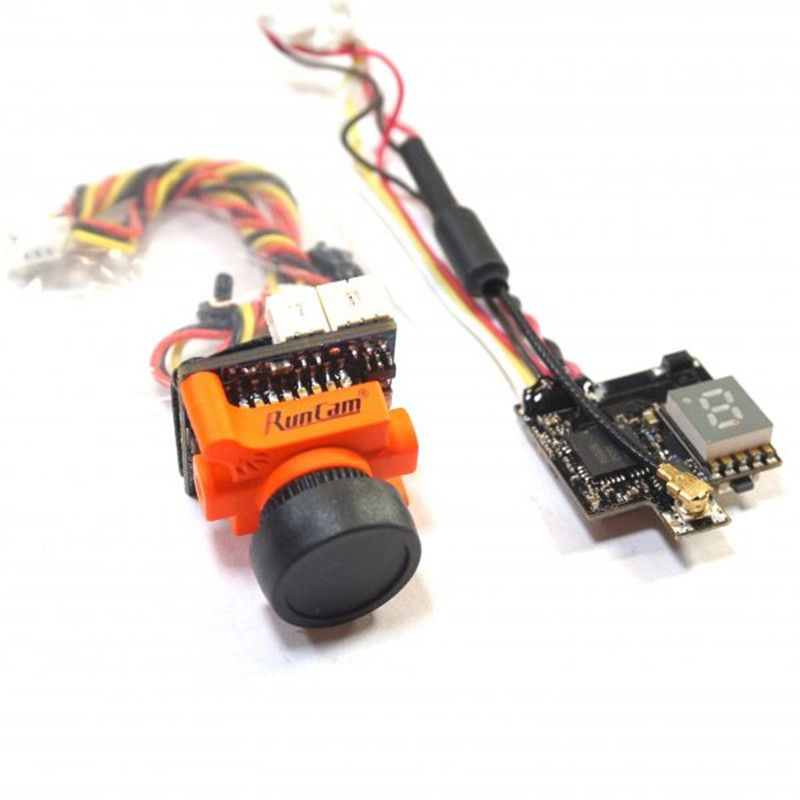 RunCam Micro Swift 600TVL CCD Camera & Eachine ATX03 Mini 5.8G 72CH AV VTX Transmitter FPV Combo for RC Drone FPV Quadcopter DIY