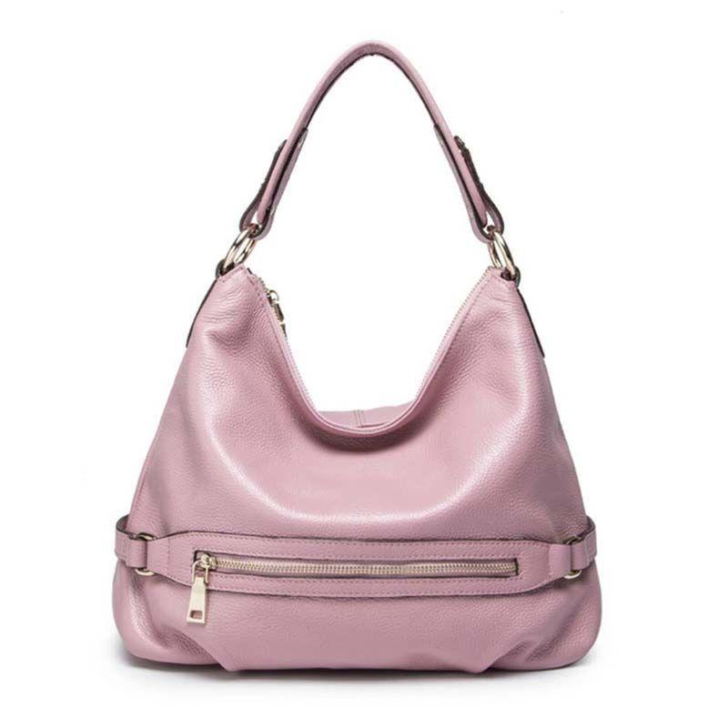 GUQIWT 2018 Famous Brand Fashion Genuine Real Leather Women Causal Shoulder Bags Ladies Messenger Shopping Handbags